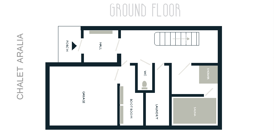 Chalet Aralia ground floor