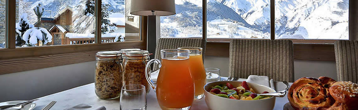 Great food in the alps